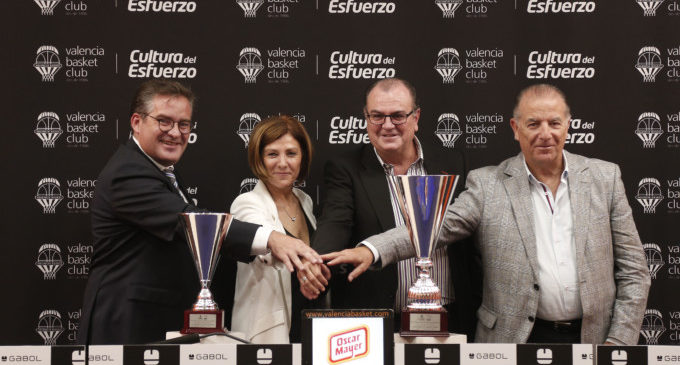 El València Basket es presenta este diumenge davant la seua afició
