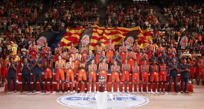 La Lliga i els equips del València Basket ja estan en el cel de la Fonteta