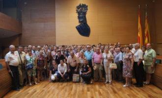 Un centenar de vecinos de Llocnou de Sant Jeroni y Potries visitan la Diputación de Valencia