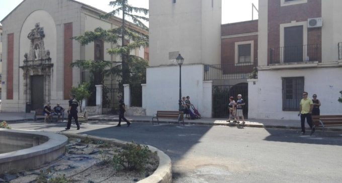 L'encreuament entre els carrers Arquebisbe Olaechea i Sant Marcel·lí es converteix en una plaça per als vianants
