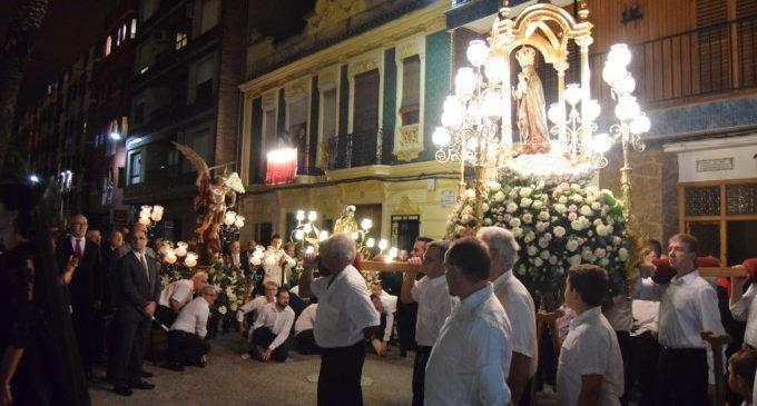 Burjassot celebra la festa en honor a Sant Miquel i a la seua patrona, la Mare de Déu de la Cabeza