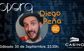 Diego Peña presenta el seu humor absurd i musical en Casino Cirsa València