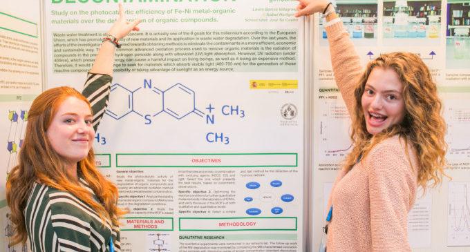 Dues alumnes de Gençana, en el certamen internacional de Joves Investigadors