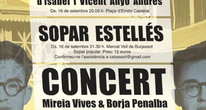 Vicent Andrés Estellés omple de festa Burjassot