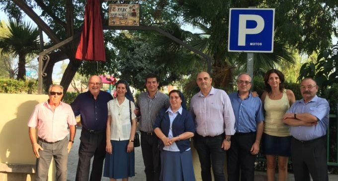 Juana María Condesa Lluch dóna nom al parc de Cantereria