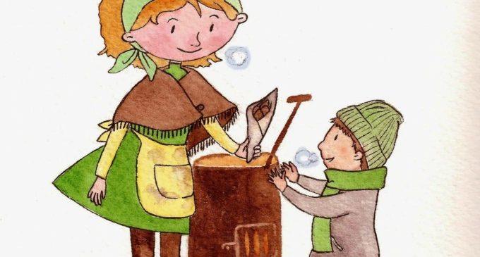"""""""La Castanyera"""" arriba a la Biblioteca Infantil per a mostrar als més menuts l'arribada de la tardor"""