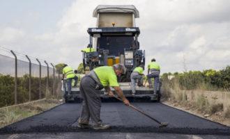 L'Ajuntament amplia les actuacions d'asfaltat en la xarxa de camins rurals
