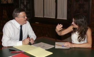 Puig i Oltra acorden traslladar a Rajoy la necessitat urgent de canviar el model de finançament