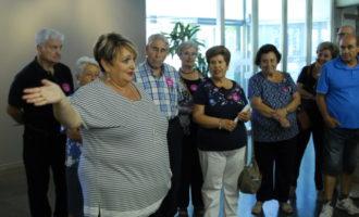 Mig centenar de veïnes i veïns de L'Eliana descobreixen el patrimoni de la Diputació de València