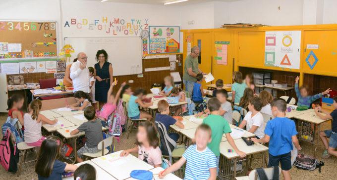El curs escolar comença per a 3.700 xiquetes i xiquets de Paiporta