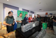Guàrdia Civil i Duanes intercepten més de 700 quilos de cocaïna en el port de València