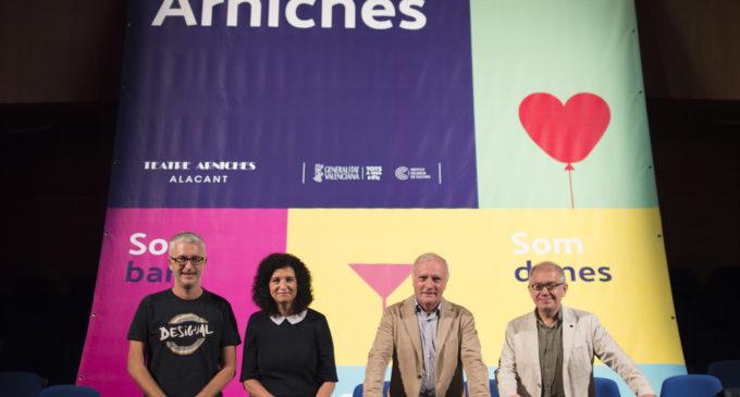 Cultura presenta la temporada 2017-2018 d'Alacant amb el lema 'Som Arniches'