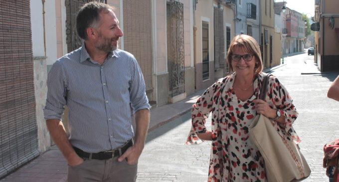 La Diputació assisteix a l'Ènova per a ajudar-li a créixer com a municipi i evitar la despoblació
