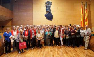 Un centenar de veïns de Xàtiva i Albalat dels Sorells visiten la Diputació de València
