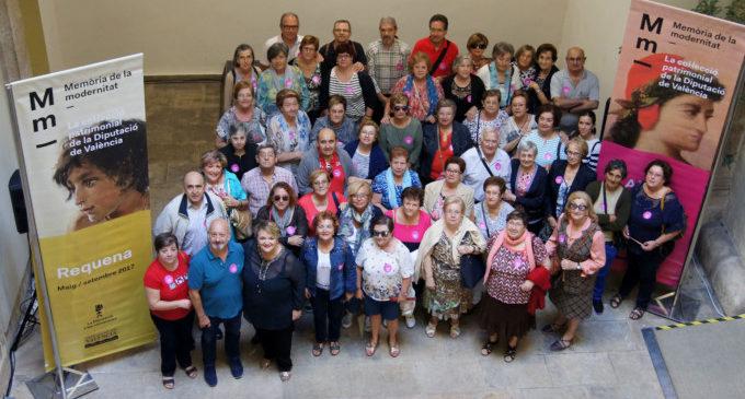 Un centenar de veïns de Sedaví i la Pobla de Farnals visiten la Diputació de València