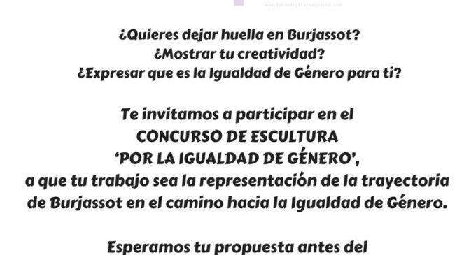 L'Ajuntament de Burjassot convoca un Concurs d'Escultura per la Igualtat de Gènere