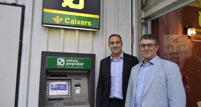 El Mercat Municipal l'Almara ja compta amb un caixer automàtic