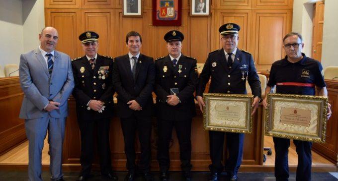 La Policia Nacional celebra la festivitat dels seus patrons, els Sants Àngels Custodis