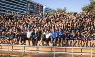 La Diputació recolza a l'Escola d'Atletisme València Esports amb més de 800 alumnes inscrits