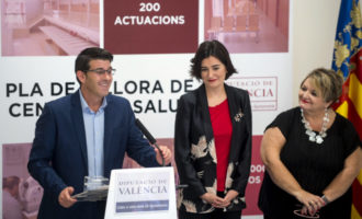 La Diputación y Sanitat invierten 380.000 euros en la mejora de centros de salud del departamento de Gandia