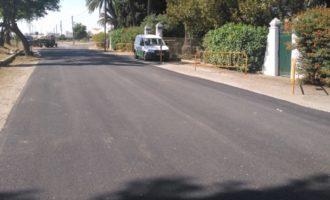 L'ajuntament del Puig i Cortichapa asfalten l'entorn de l'Ermita de Sant Jordi i el Polígon de l'Estació