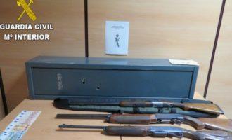 Cinco personas detenidas por un robo con fuerza en un chalet de la Pobla de Vallbona