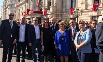 La Diputación, muy presente en las celebraciones del 9 de octubre