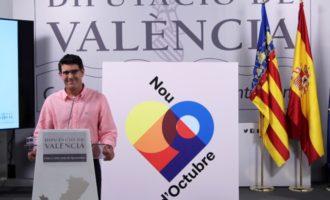 """Jorge Rodríguez asiste al acto de la Generalitat en el 9 d'Octubre: """"La concordia es más necesaria que nunca"""""""