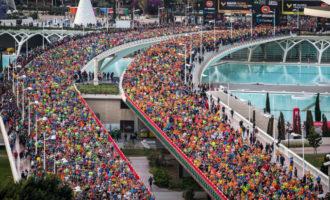 Mitja Marató i Marató València ja superen els 13.600 i 17.800 corredors