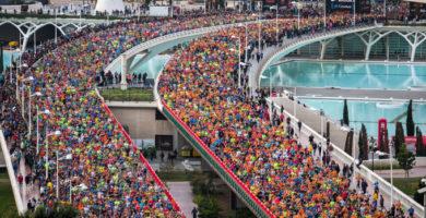Valencia celebra el Maratón Trinidad Alfonso