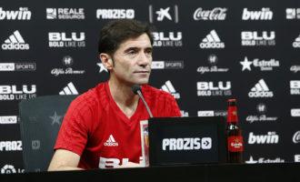 """Marcelino: """"Trobar una afició bolcada sempre a Mestalla ens ajuda a guanyar"""""""