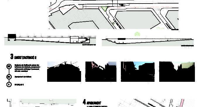 L'Ajuntament planifica diverses actuacions urbanístiques en l'eix oest-est del nucli