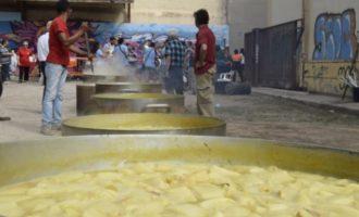 Tradició en la celebració del 9 d'Octubre a Burjassot