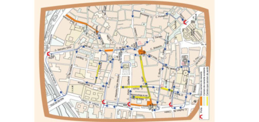 València conclou la reordenació de la mobilitat en Ciutat Vella