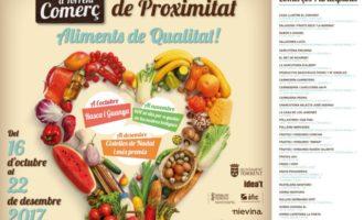 Torrent fomenta el comerç local amb la campanya 'Comercie de proximitat, Aliments de qualitat'