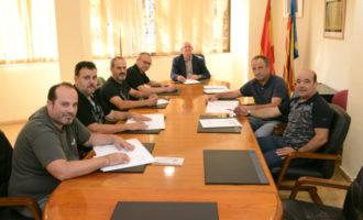 L'Ajuntament de Paiporta i les comissions falleres renoven els seus convenis de col·laboració
