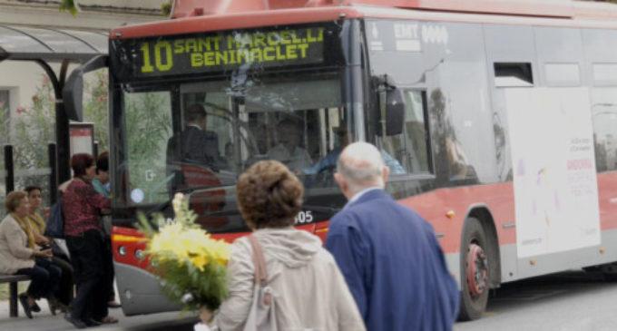 L'EMT reforça el seu servei d'autobusos per al dia de Tots Sants