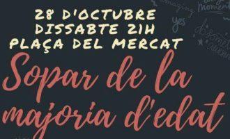 Catarroja organitza una festa per als joves que arriben a la majoria d'edat