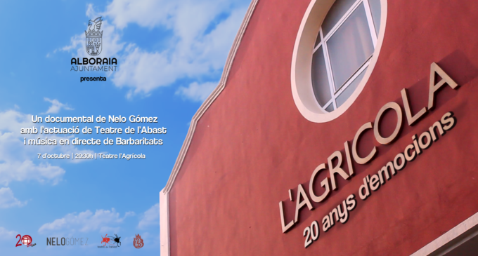 El Teatre L'Agrícola d'Alboraia celebra el seu 20 aniversari