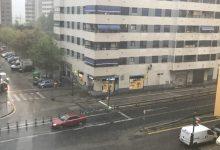 Activada l'alerta groga per fortes pluges a València