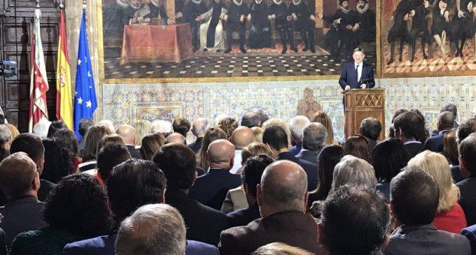 """Mata: """"La Comunitat, amb Ximo Puig al capdavant, ha deixat de ser espectadora del que succeeix a Espanya per a ser protagonista de la solució """""""