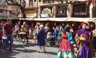 Llega el Mercado Medieval de Valencia