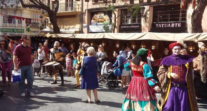 Arriba el Mercat Medieval de València