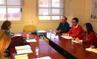 Representants d'Educació es reuneixen amb responsables de 8 ajuntaments pel pla Edificant