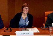"""Micó, """"convençuda"""" que aquest cap de setmana es podrà avançar """"molt més"""" en l'estructura institucional del Botànic II"""