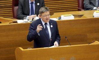 """Puig diu que per al Consell és """"absolutament irrenunciable"""" que a partir de 2019 l'AP-7 siga gratuïta"""