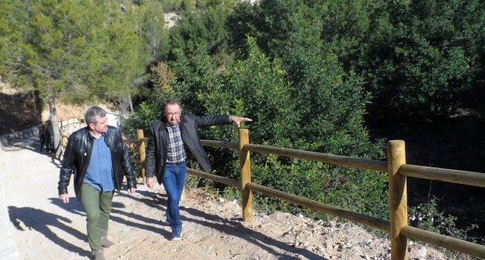 Benissoda recupera el paratge de la Font de l'Olivera i condiciona el Camí de la Bassa amb l'ajuda de la Diputació