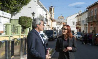 Palmera urbanitza els terrenys destinats a la construcció del nou col·legi amb ajuda de la Diputació