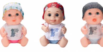 Regala il·lusió i esperança amb els 'Baby Pelones' de Juegaterapia