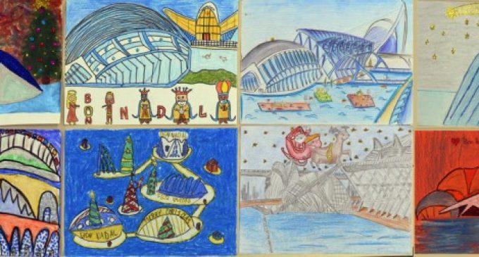 Concurs de dibuix nadalenc en la Ciutat de les Arts i les Ciències